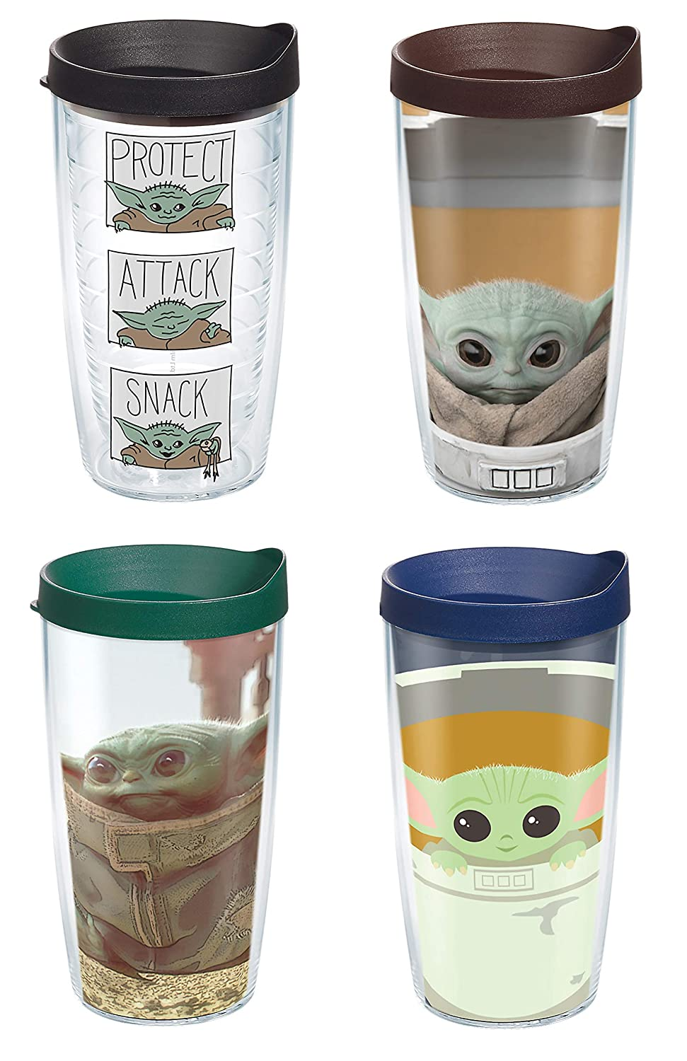 Double Wall Tumblers - Star Wars The Mandalorian Collection
