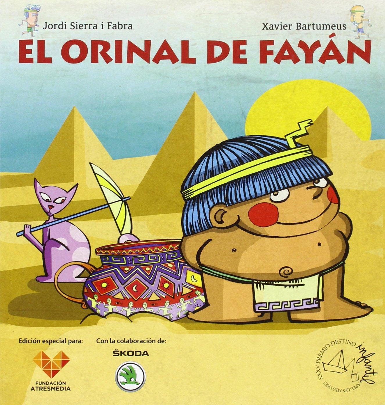 Antena 3-El orinal de Fayán: Premio Destino Infantil. Apel·les ...