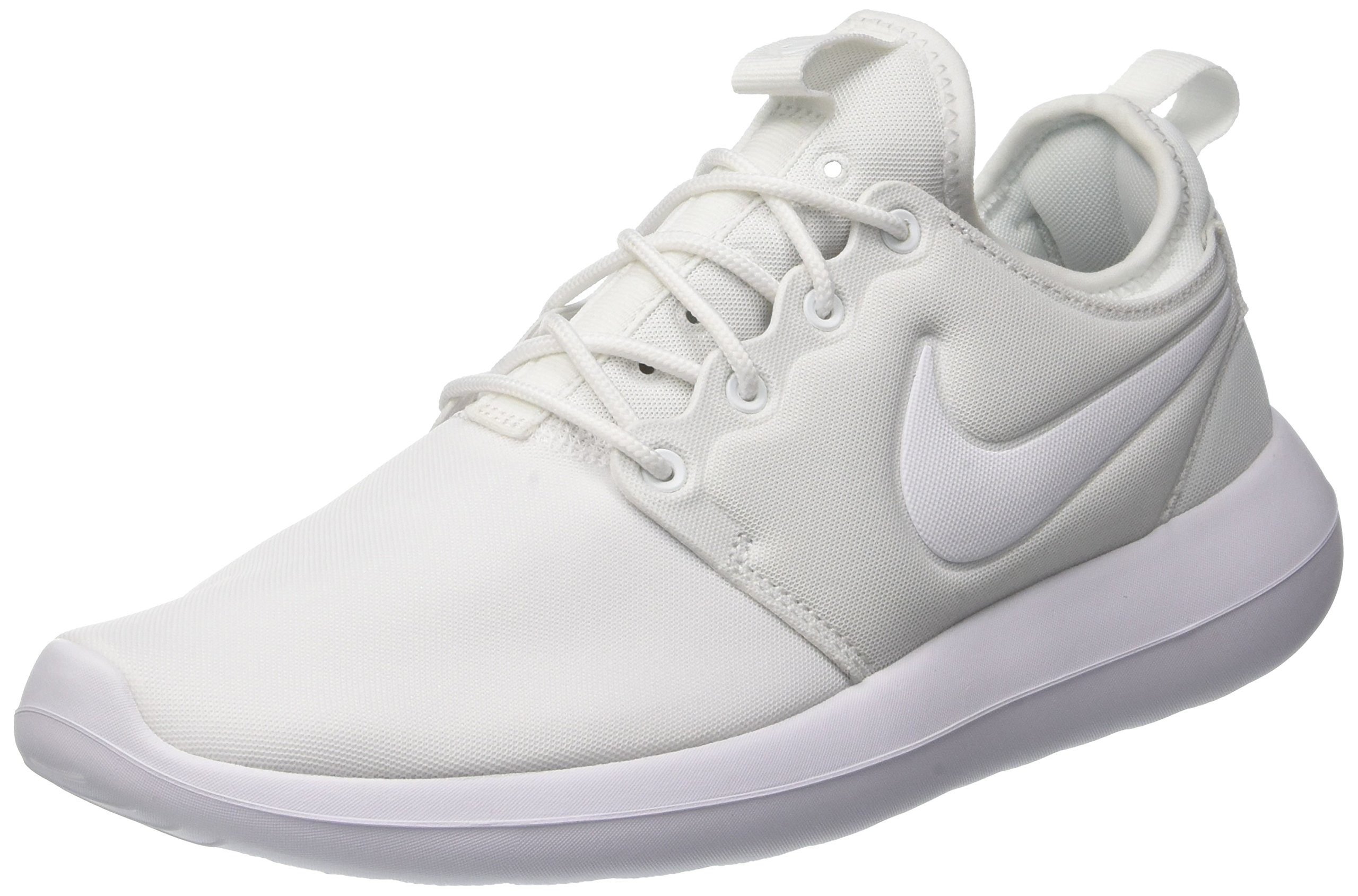 sports shoes 48ddf 10645 Galleon - Nike Womens Roshe Two Low Top Lace Up, White White-Pure Platinum,  Size 7.5