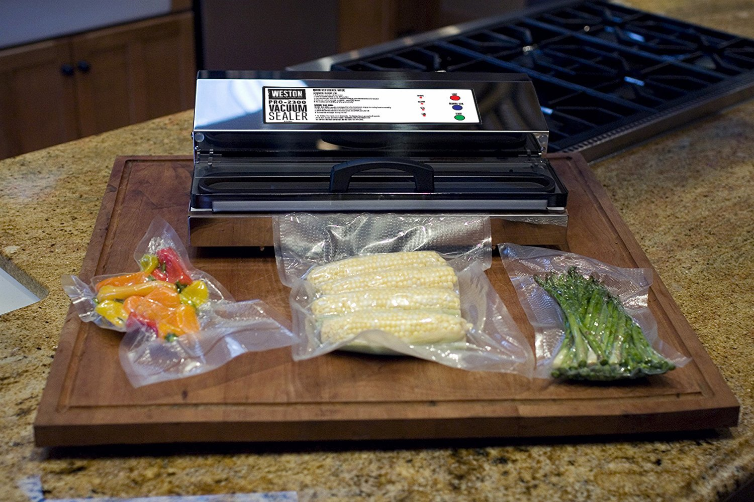 Weston Pro-2300 Commercial Grade Stainless Steel Vacuum Sealer (65-0201), Double Piston Pump by Weston (Image #6)