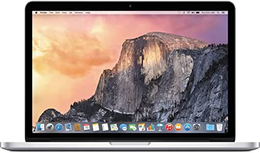 Apple MacBook Pro MF839LL/A Intel Core i5-5257U X2 2.7GHz 8GB 128GB, Silver (Renewed)