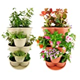 Amazing Creation Stackable Planter Vertical