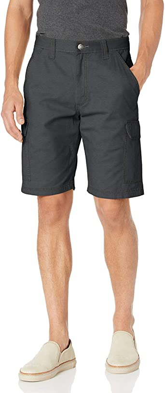 Men/'s Wrangler Comfort Flex Fabric Cargo Shorts relaxed fit tech pocket