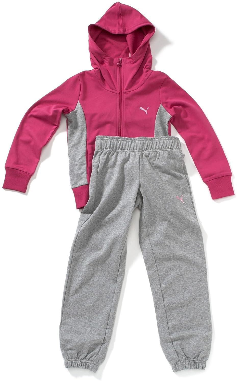 PUMA - Chándal Infantil, tamaño 176, Color Rosa: Amazon.es: Ropa y ...