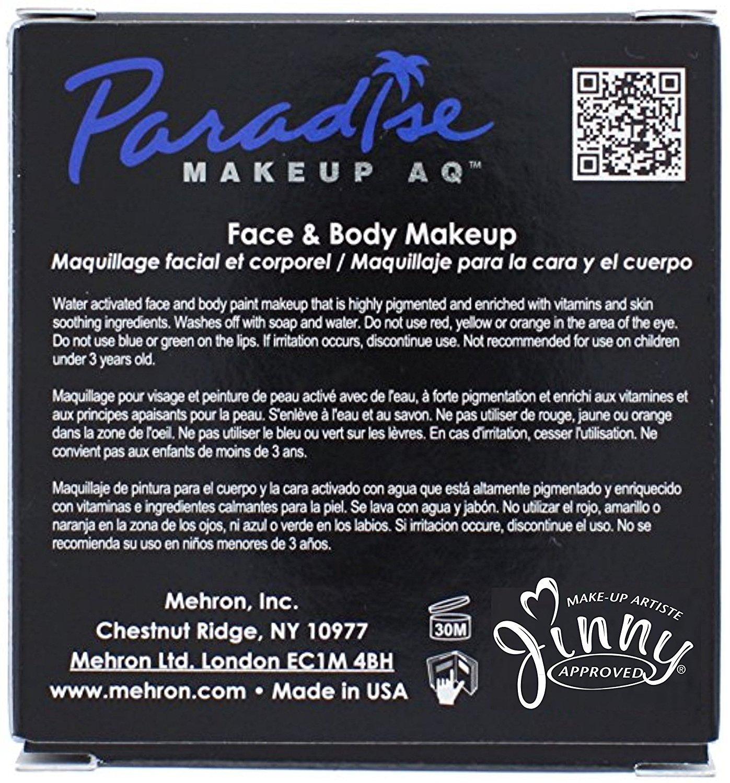Amazon.com: Mehron Paradise BLACK - Face and Body Paint Pro Size 1.4 oz: Everything Else