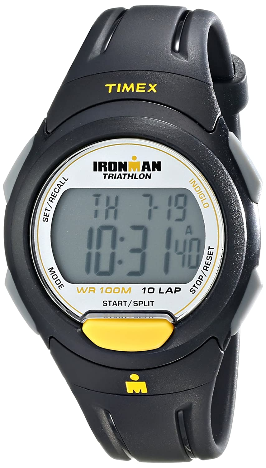 d089aeb17752 Amazon.com  Timex Men s T5K779 Ironman Traditional 10-Lap Full-Size Sport  Watch  Timex  Watches