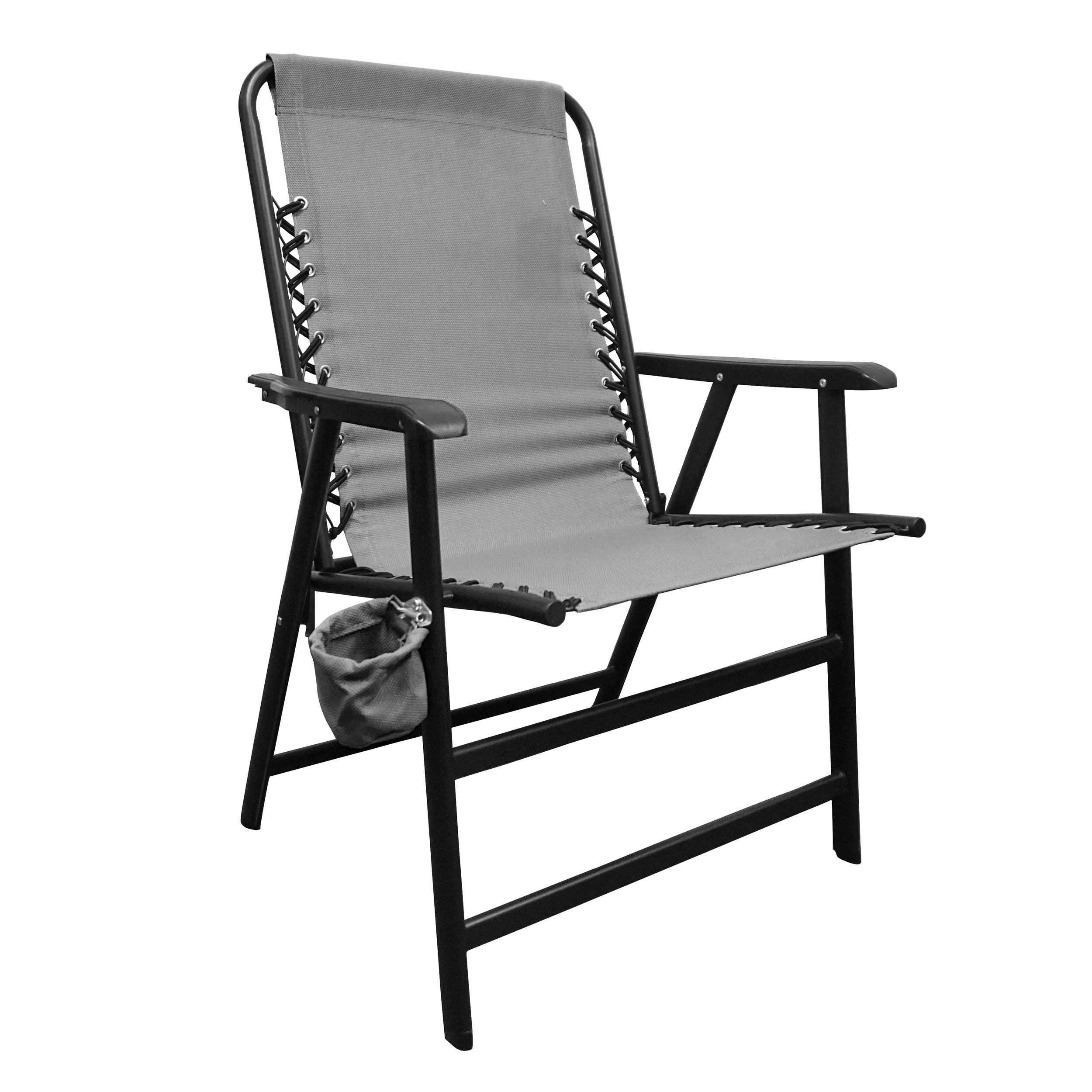 Caravan Canopy Sports Suspension Chair, Grey, X-Large
