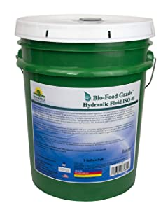 Renewable Lubricants Bio-Food Grade ISO 46 Hydraulic Fluid, 5 Gallon Pail