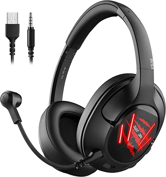 Eksa Gaming Headset Für Pc Ps4 Xbox One Over Ear Elektronik