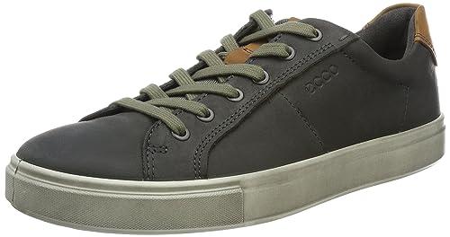 Ecco Soft 7, Zapatillas para Hombre, Gris (Titanium), 40 EU