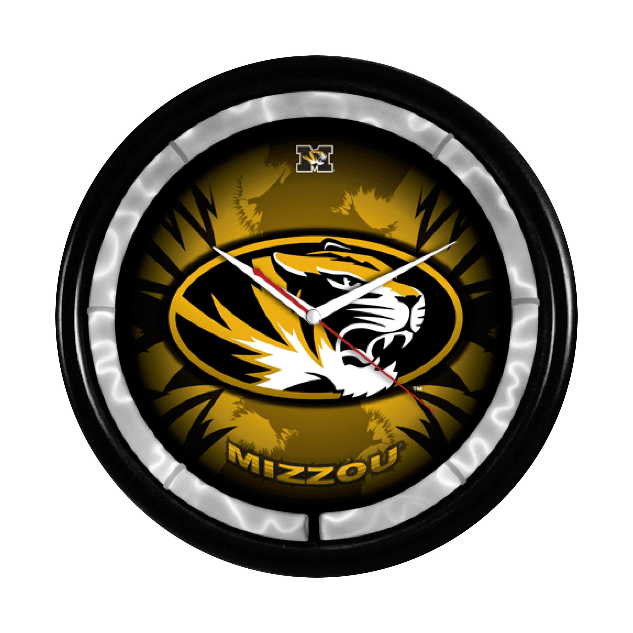 Authentic Street Signs NCAA College Team Plasma Clock (Missouri Tigers) by Authentic Street Signs