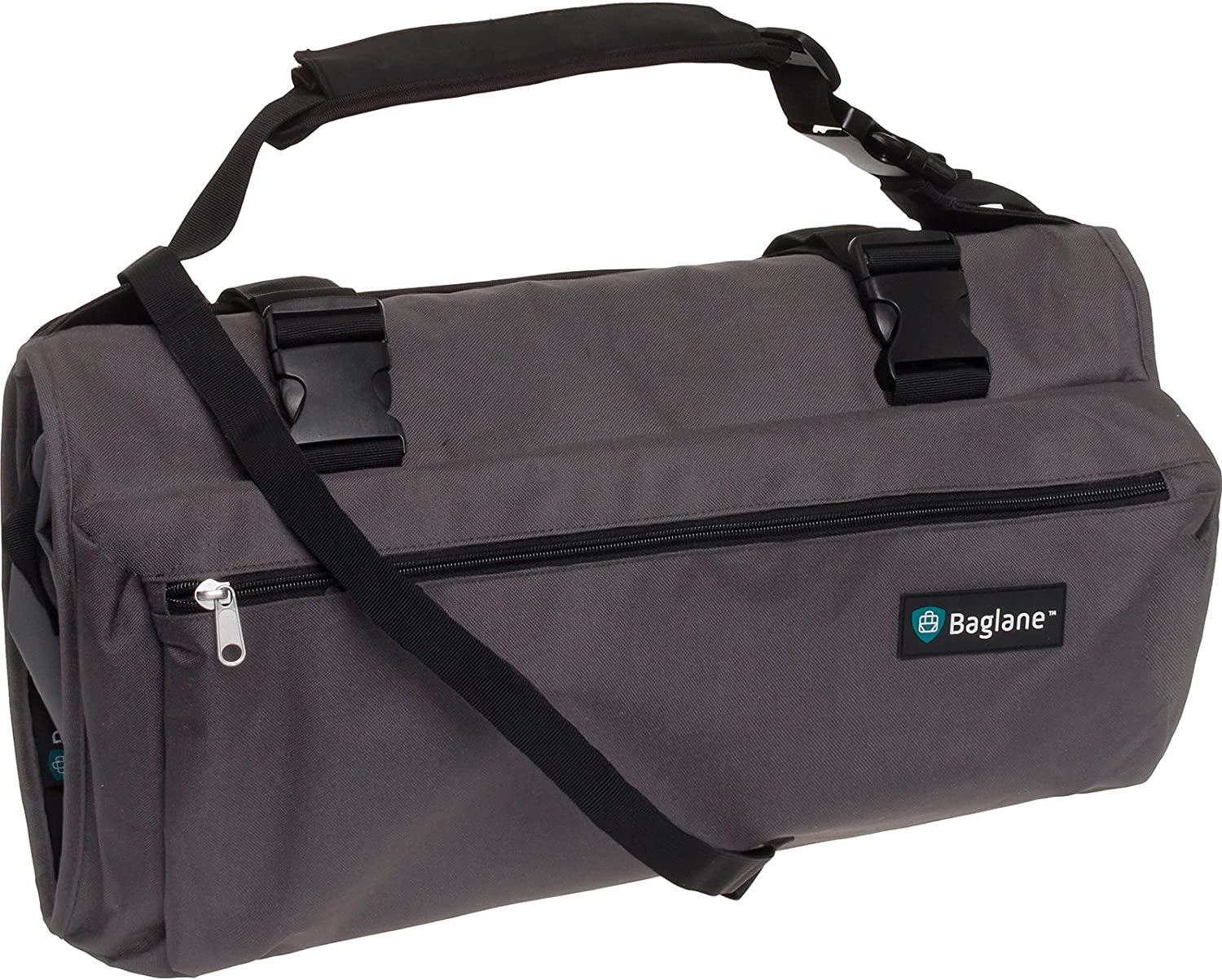 3dee71222a0 Amazon.com   BagLane Garment Suit Bag - Travel Carry On Garment Bag (Grey)    Garment Bags