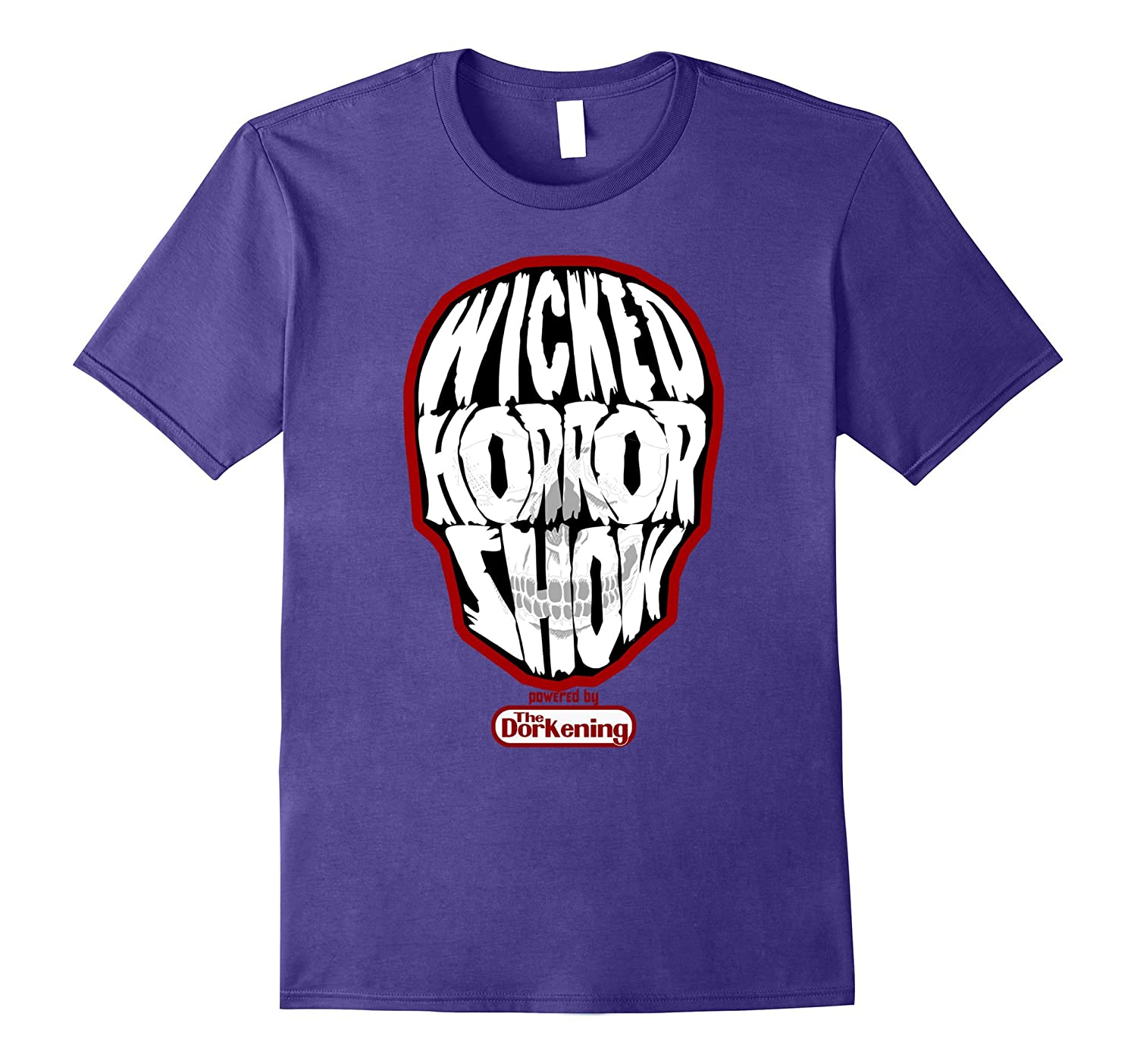 Wicked Horror Show Tee-Shirt-Vaci