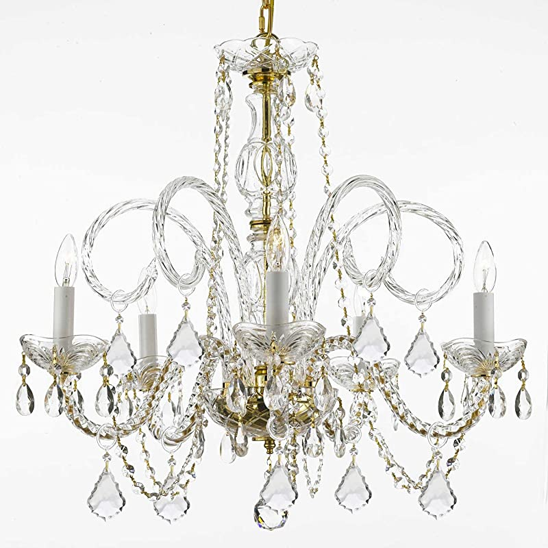 Swarovski Crystal Dollhouse Chandelier: Chandelier Chandeliers Lighting Dressed With Swarovski