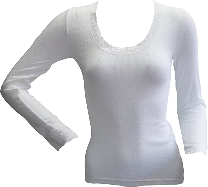 Palm/® British Made Ladies//Womens Brushed Thermal Fancy Knit Short Sleeve Spencer
