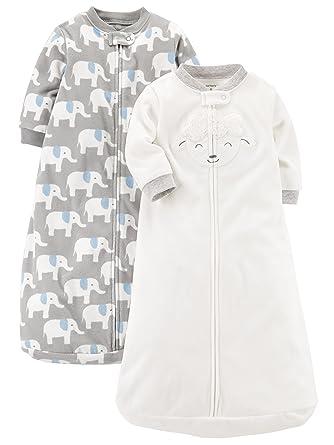 Carters Bebé, Unisex Saco de Dormir - Blanco -: Amazon.es: Ropa y accesorios