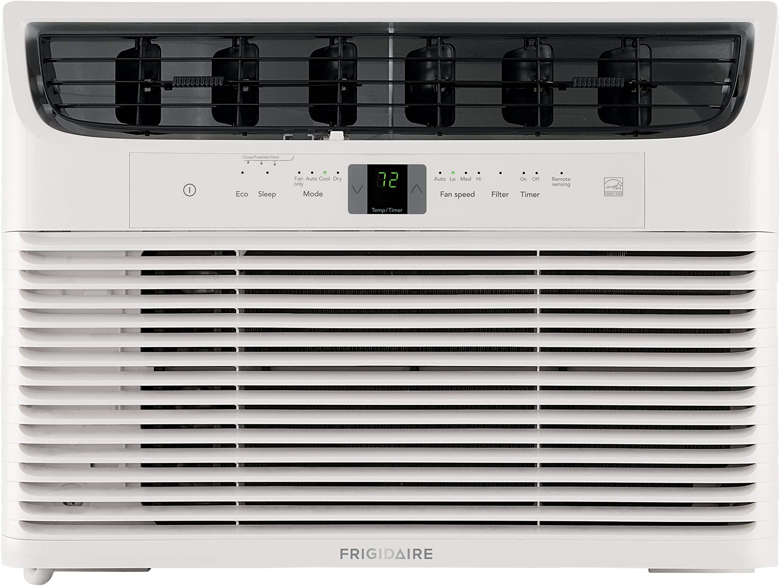 FRIGIDAIRE Energy Star 10,000 BTU 115V Window-Mounted Compact Air Conditioner with Full-Function Remote Control, White by FRIGIDAIRE