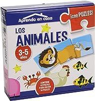 APRENDO EN CASALOS ANIMALES PUZLES EDUCATIVOS (