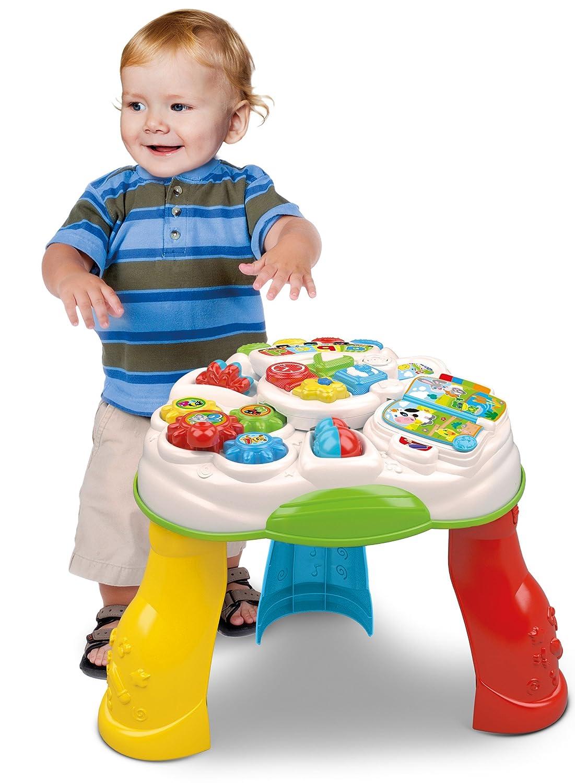 Baby Clementoni- Baby Mesa educativa, Multicolor, única (55199.6)