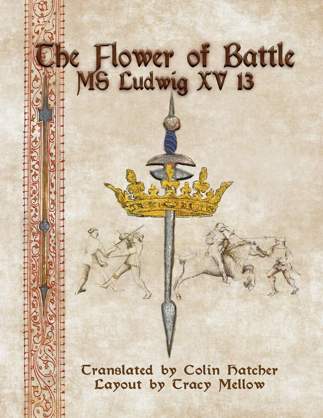 The Flower Of Battle  MS Ludwig Xv13