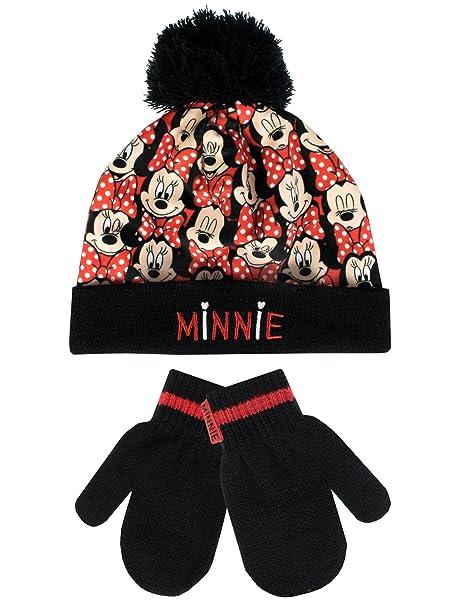 Disney Minnie Mouse - Conjunto de gorro y guantes para niña - Minnie Mouse  - 6 - 8 Años  Amazon.es  Ropa y accesorios 8ec6b96d62b