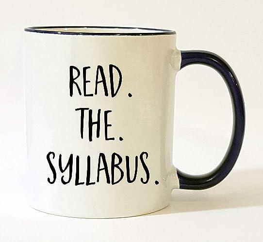 Read the Syllabus Mug