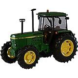 Britains - Tractor John Deere 3140, color verde, amarillo y negro (TOMY 42996)