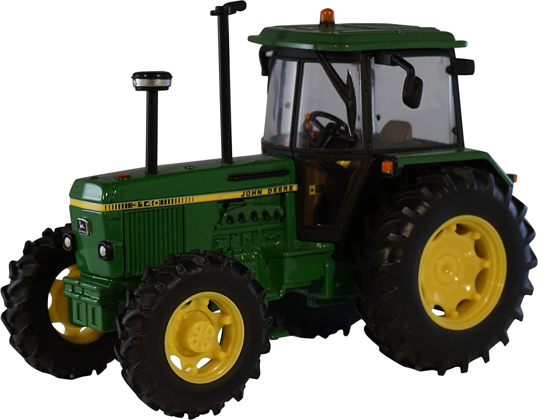 Britains Tractor John Deere 3140, color verde, amarillo y negro ...