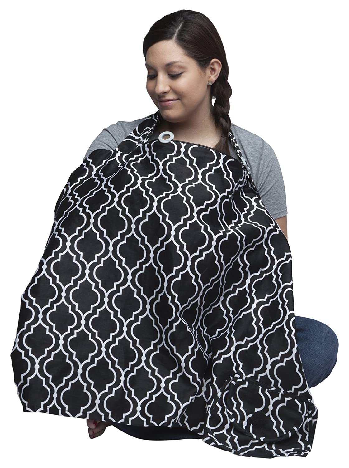 Boppy Nursing Cover, Seville 5600483K 6PK
