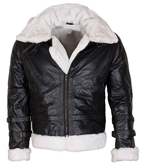 951d2fe12e9 UNICORN Womens Sheepskin Flying Jacket - Brown And Cream - 'Air force'  Aviator Leather coat #CF
