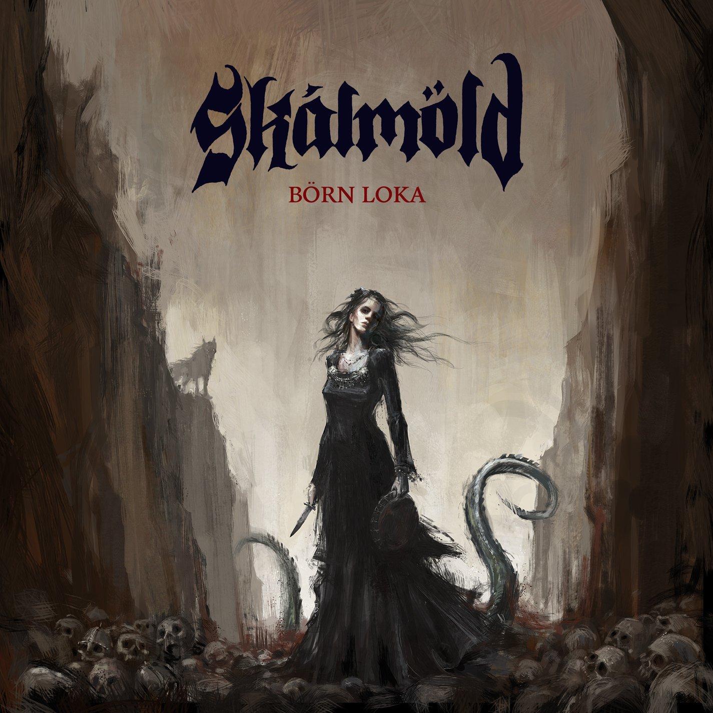 CD : Skalmold - Born Loka (CD)