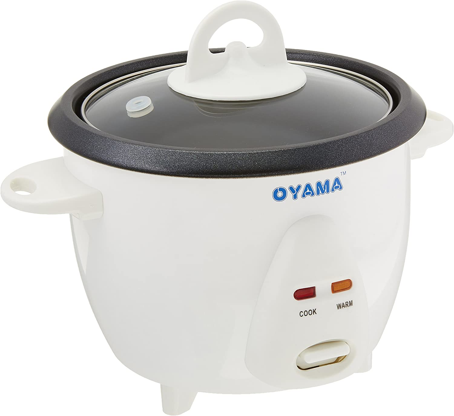 Oyama 3 Cup (uncooked rice) Traditional Rice Cooker-Warmer