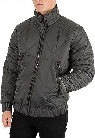 G Star Homme Strett Utility Jacket, Gris, X Large: