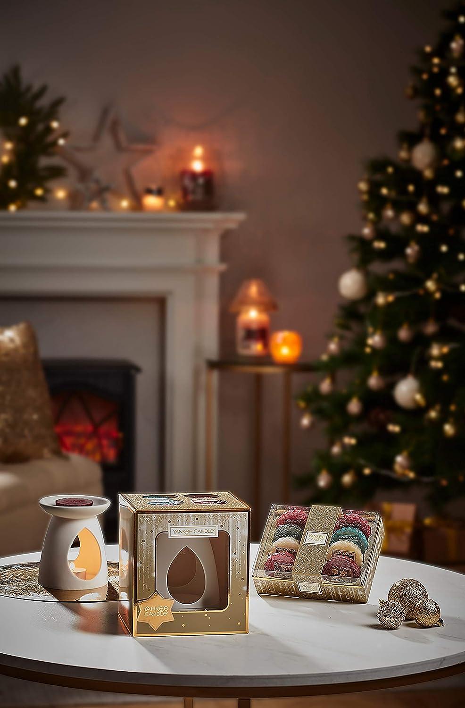 Yankee Candle-Geschenkset mit 8/Schmelzwachsen