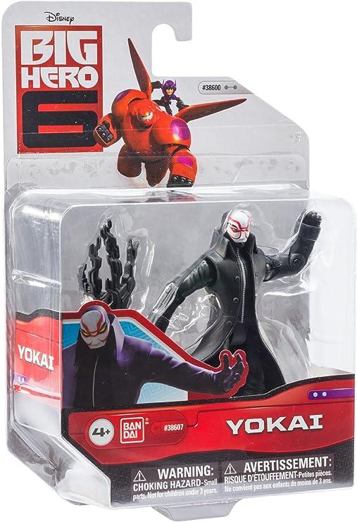 Amazon Com Big Hero 6 4 Inch Yokai Action Figure Toys Games