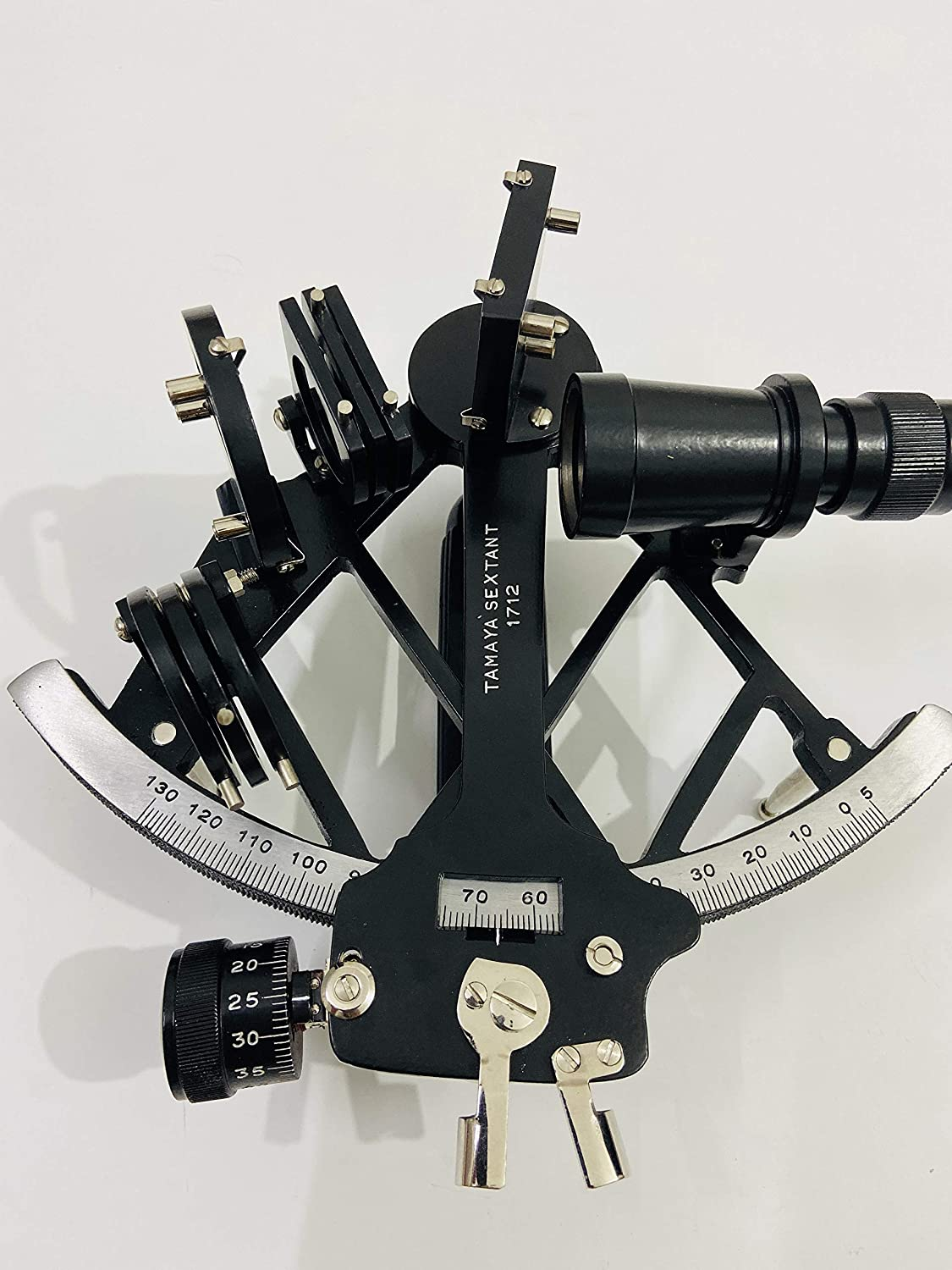 Nautical Aluminium Sextant Vintage Astrolabe Sextant Maritime Ship Working Gift