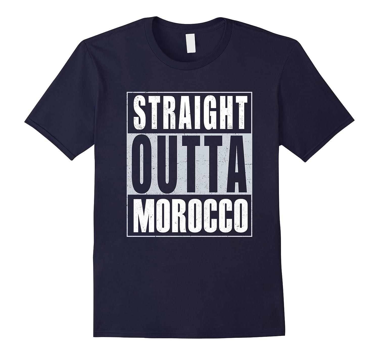 Straight Outta Morocco T-Shirt Moroccan Pride-Vaci
