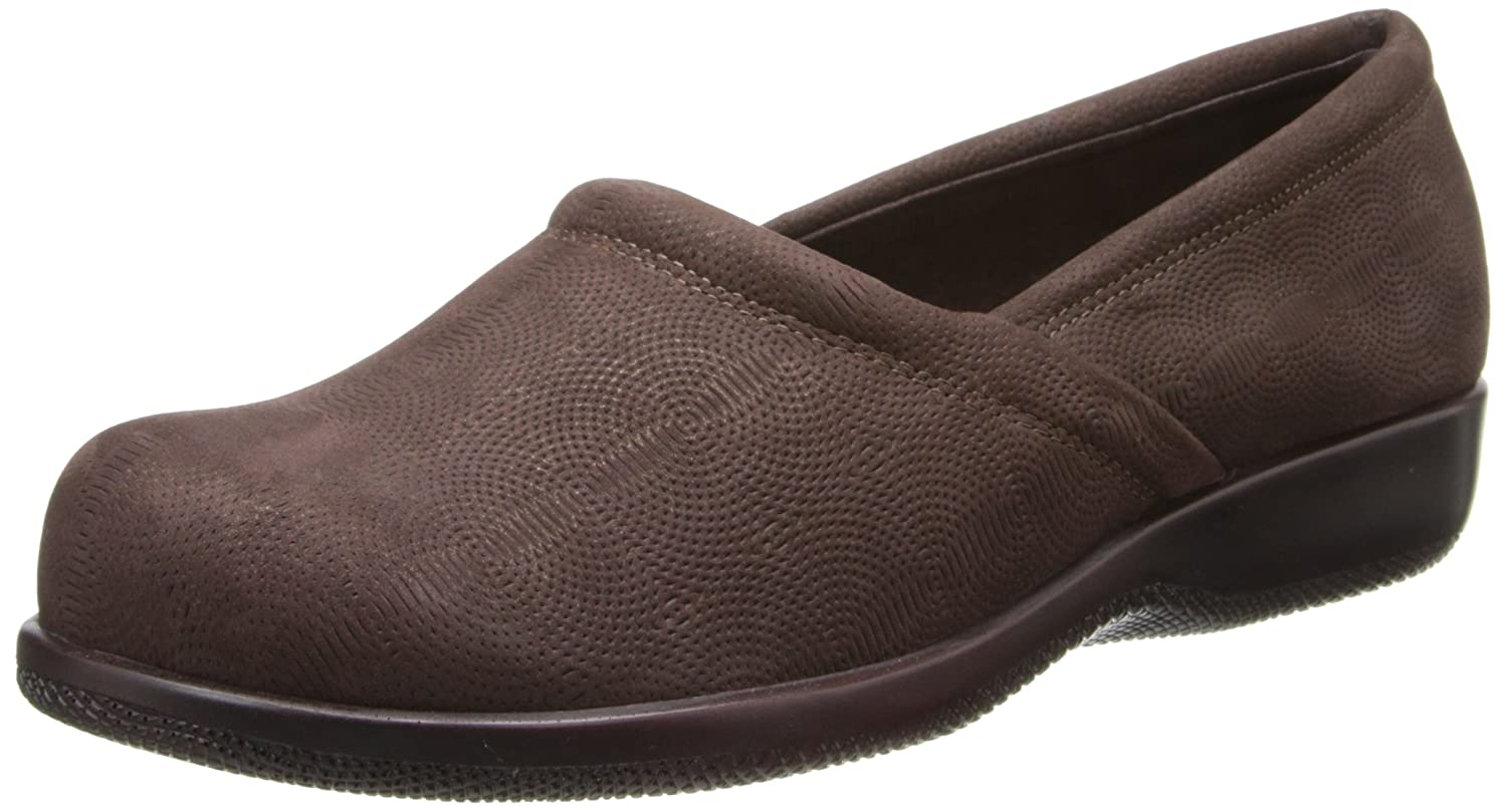 SoftWalk Women's Adora Flat B00HQQU3PI 7 N US|Dark Brown/Dark Bronze