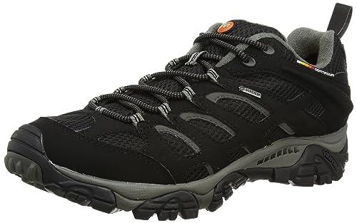 Merrell Women s Moab Gore-Tex Low Rise Hiking Shoes  Amazon.co.uk ... 1b38f38cb8
