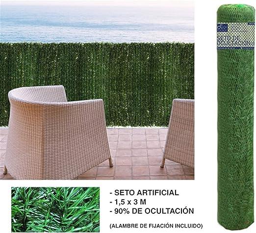 Comercial Candela SETO OCULTACIÓN 1, 5X3 Metros: Amazon.es: Jardín