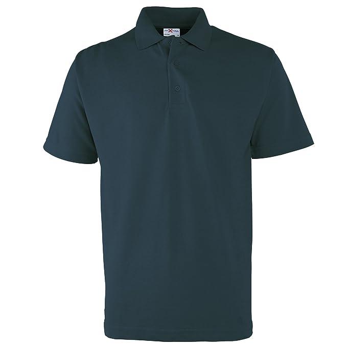 RTXtra Herren Polo Shirt Klassik (Small) (Marineblau)