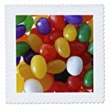 3dRose qs_11446_10 Jumping Jelly Beans Quilt