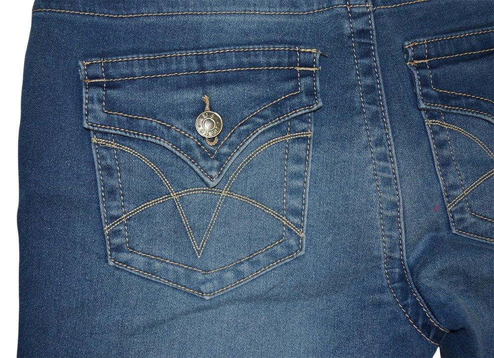 Alfa Global Women's Denim Fold Over Short 5707M Size 6 by Alfa Global (Image #3)
