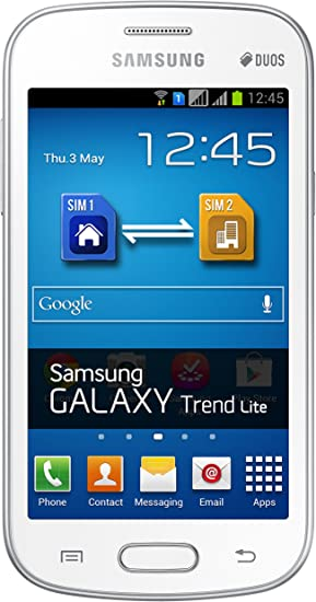 Samsung Galaxy Trend Lite Duos (Fresh) Smartphone Libre (Android ...