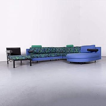 Stupendous Bb Italia Sity Designer Stoff Sofa Liege Garnitur Blau Beutiful Home Inspiration Cosmmahrainfo