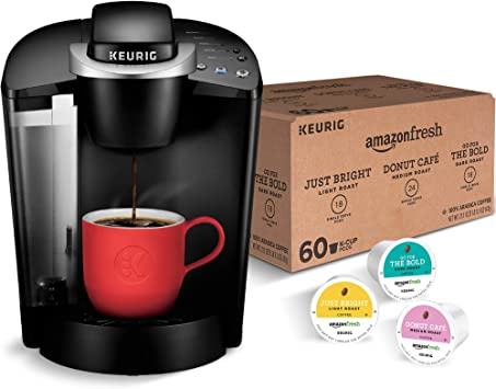 Amazon.com: Keurig K-Classic Cafetera con AmazonFresh 60 ...