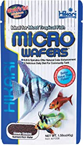 Hikari Micro Wafers Fish Food, 1.58-Ounce