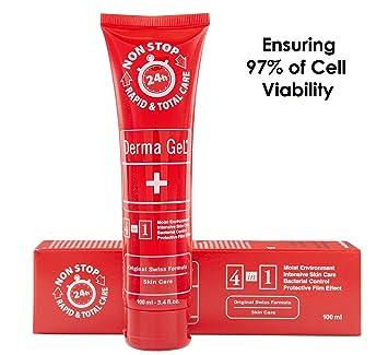 Amazoncom Derma Gel Human Skin Care Tube 34 Floz 100ml Beauty