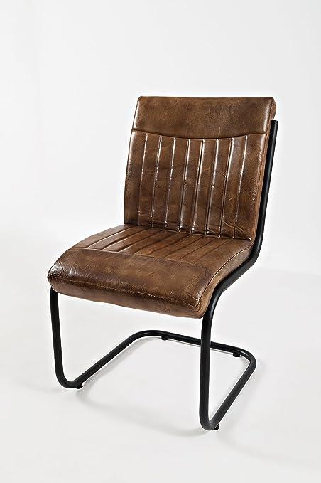 Jofran: 1696 AVIATORCHAIR, Leather Dining Side Chair, 17u0026quot; W X  18.5u0026quot;
