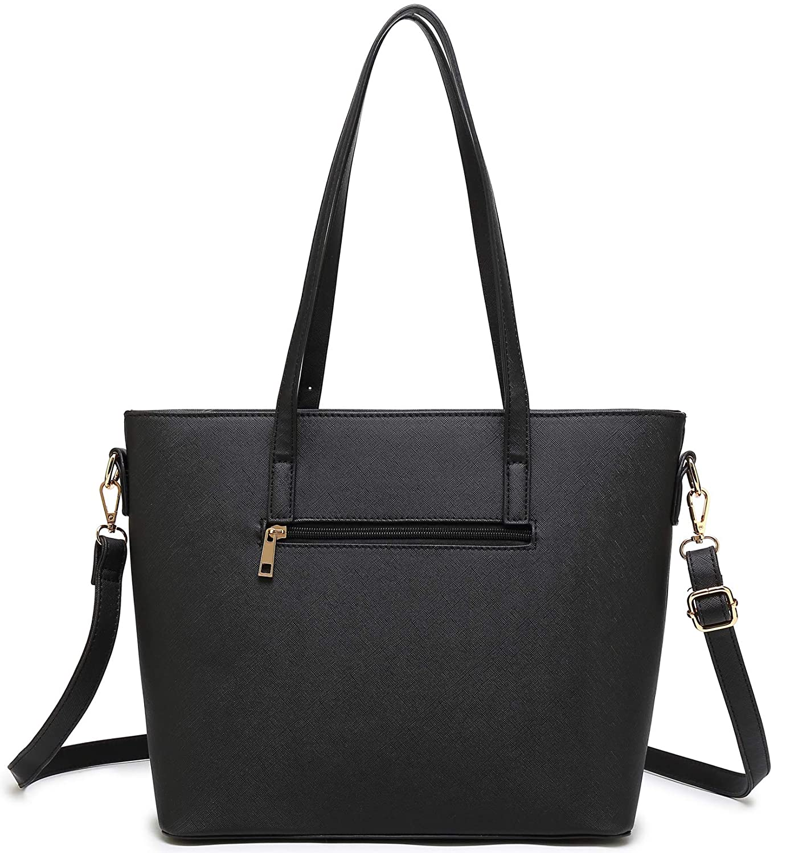 74a77ffb0e4b Amazon.com  Women Shoulder Handbag + Envelopes+Wallet 3 Piece Set Bag for  Work and Travel (Black)  Shoes